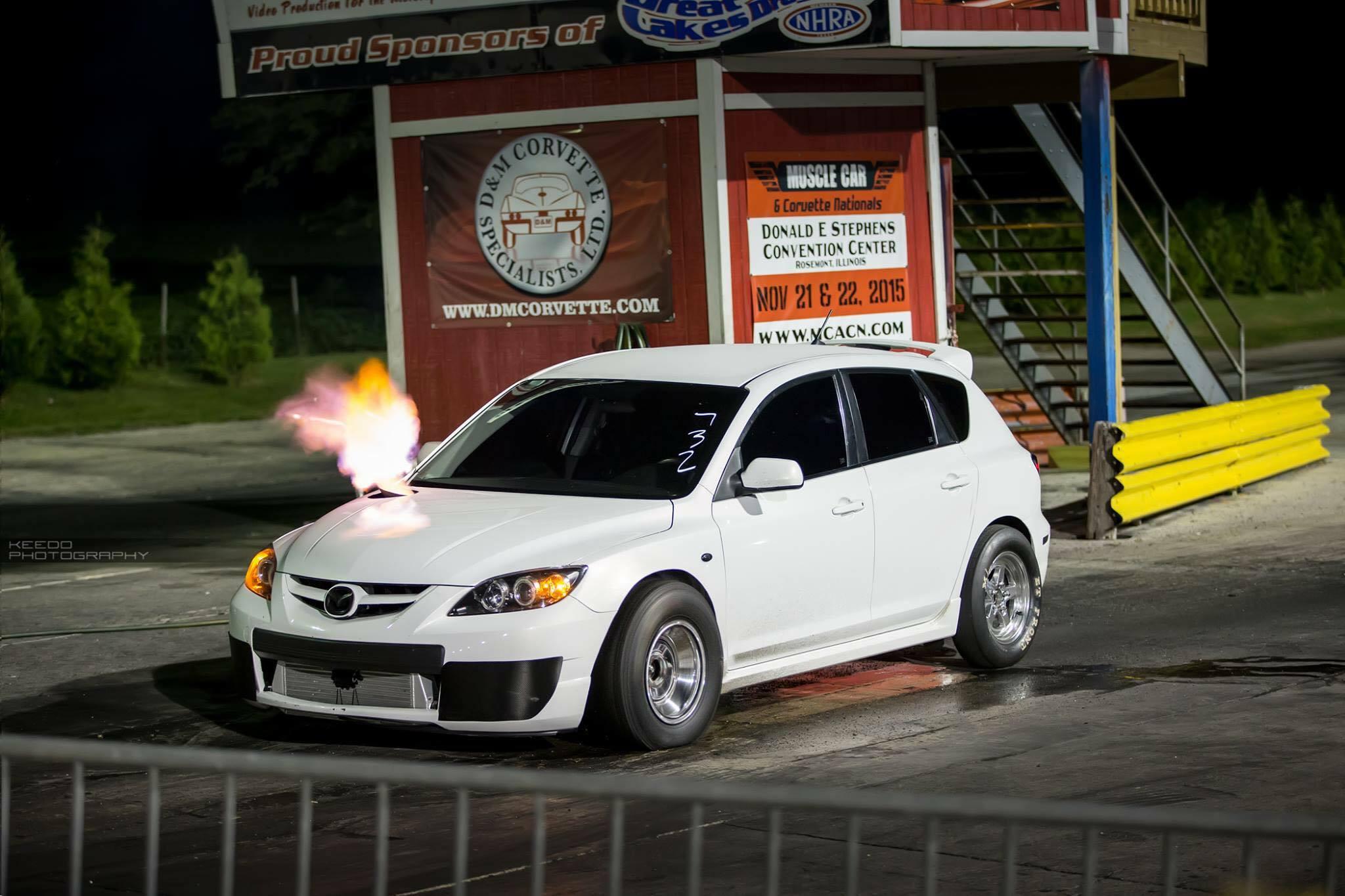 MazdaSpeed3 Hits 10 sec Quarter Mile!