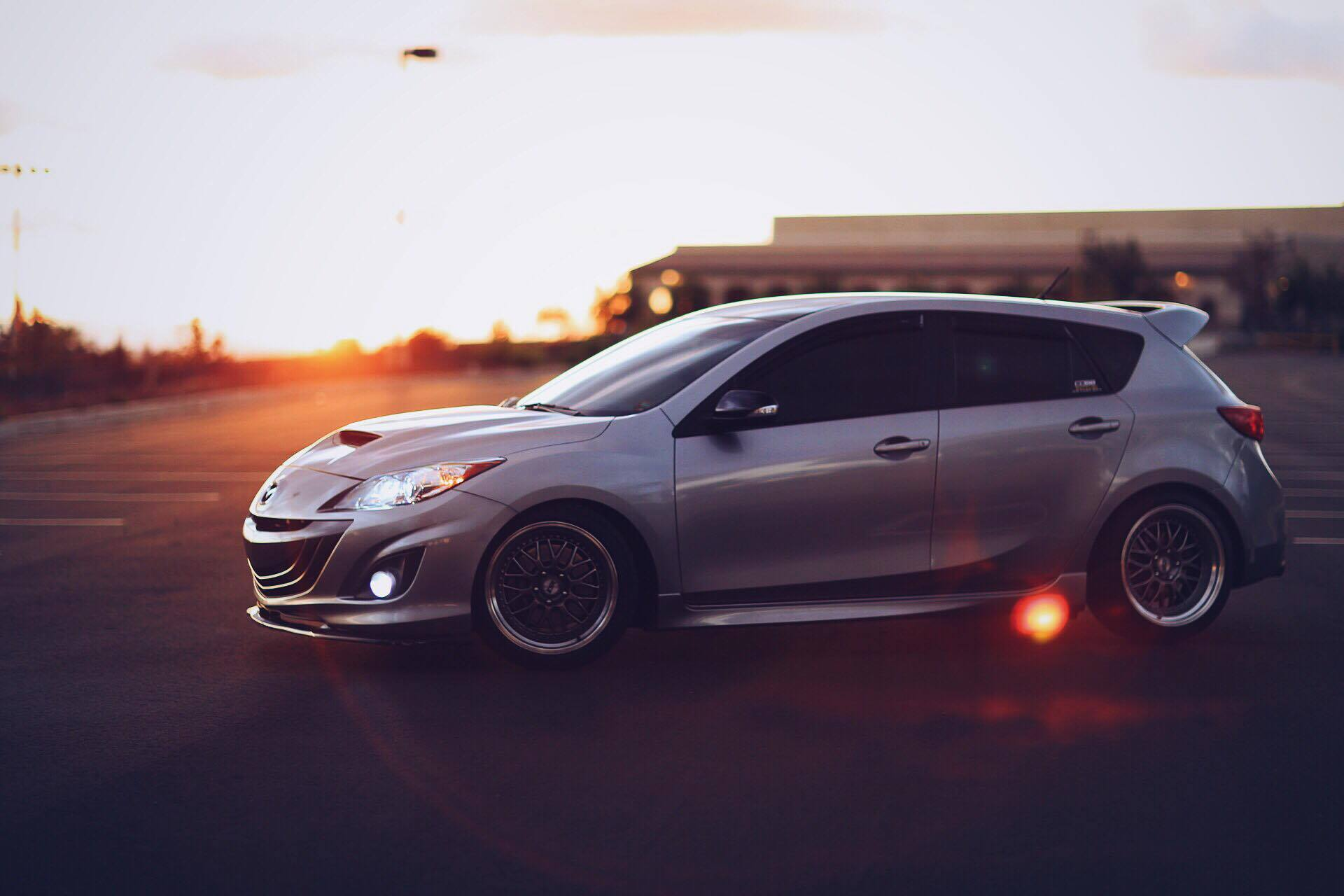 Darian Doyle's Mazdaspeed3, All Wet In SoCal..